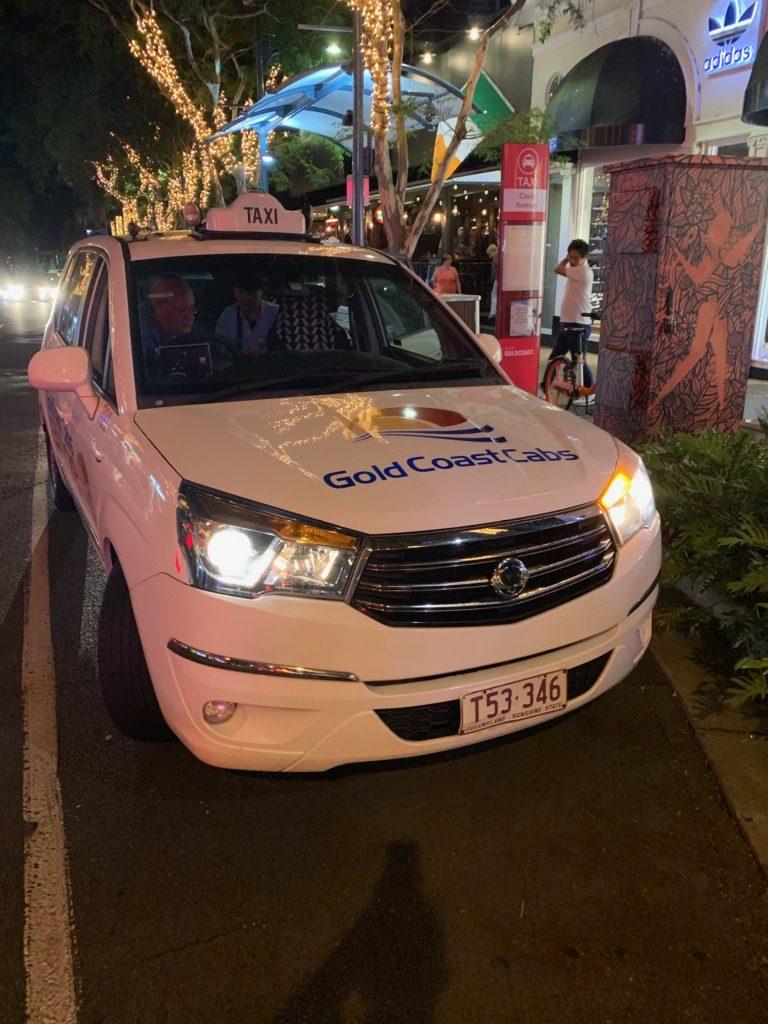 オーストラリアのタクシー事情を知る