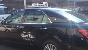 「Uber Taxi」都内エリアに第一交通が参加
